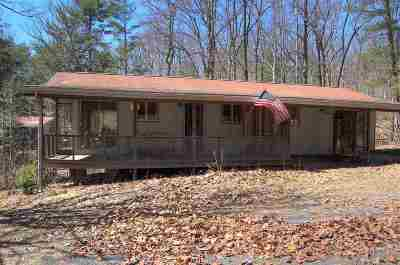 Augusta County Single Family Home For Sale: 1116 Stribling Springs Rd