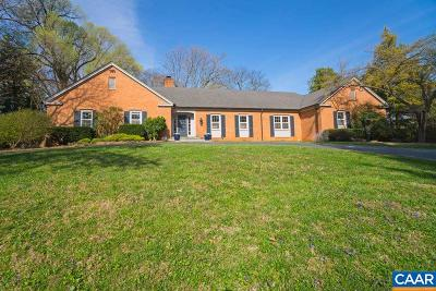 Albemarle County Single Family Home For Sale: 4 Old Farm Rd