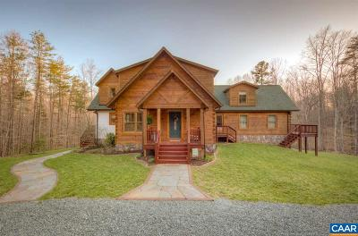 Louisa County Single Family Home For Sale: 199 Bowlers Mill Lane
