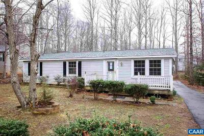 Fluvanna County Single Family Home For Sale: 30 Stonewall Rd