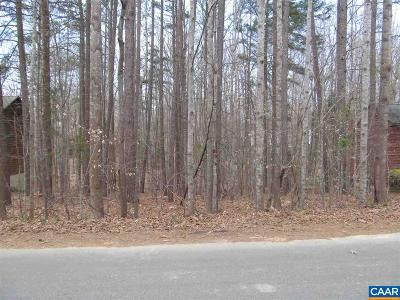 Fluvanna County Lots & Land For Sale: 13 Tanglewood Rd