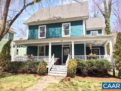 Charlottesville Single Family Home For Sale: 123 Robinson Woods