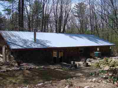 Single Family Home For Sale: 695 Piney Mountain Rd