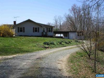 Louisa County Single Family Home For Sale: 7228 Courthouse Rd