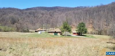 Albemarle County Single Family Home For Sale: 3719 Hungrytown Rd