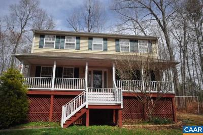 Fluvanna County Single Family Home For Sale: 801 Jefferson Dr