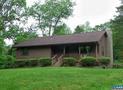 Orange Single Family Home For Sale: 1097 James Madison Hwy
