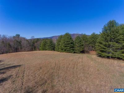 Charlottesville Lots & Land For Sale: Browns Gap Tpke