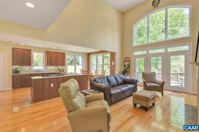 Charlottesville Single Family Home For Sale: 1725 Bending Branch Rd