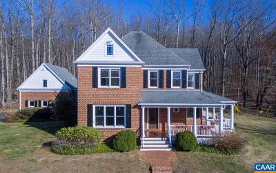 Albemarle County Single Family Home For Sale: 3199 Cold Spring Rd