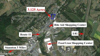 Verona Lots & Land For Sale: 560 Lee Hwy