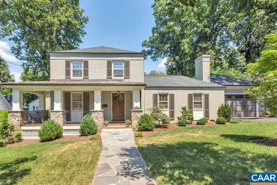 Charlottesville Single Family Home For Sale: 1827 Edgewood Ln