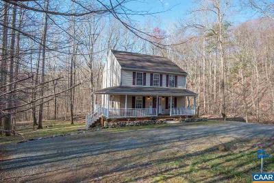 Nelson County Single Family Home For Sale: 485 Crawfords Knob Ln