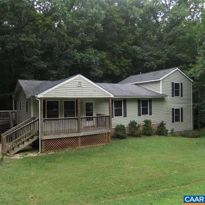 Fluvanna County Single Family Home For Sale: 18 Wildwood Dr
