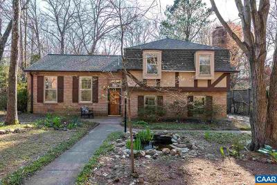 Charlottesville Single Family Home For Sale: 405 Westmoreland Ct