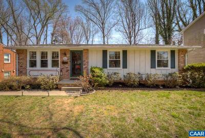 Charlottesville Single Family Home For Sale: 1234 Holmes Ave