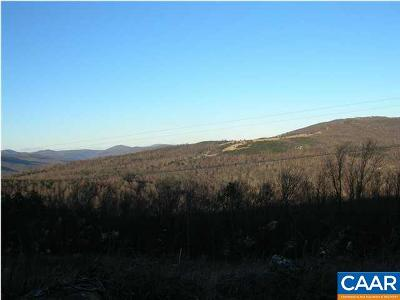 Albemarle County Lots & Land For Sale: 18 Calf Mountain Rd