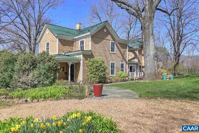 Albemarle County Single Family Home For Sale: 6486 Hillsboro Ln