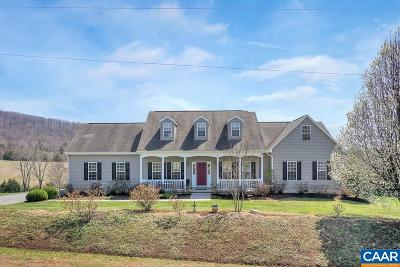 Albemarle County Single Family Home For Sale: 3645 Garden Gate Ct