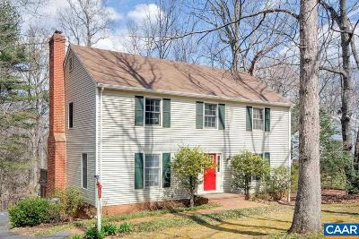 Charlottesville Single Family Home For Sale: 300 Squirrel Path