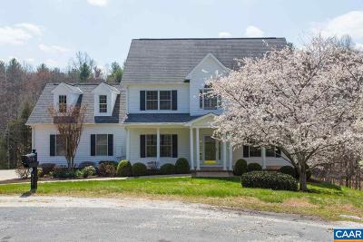 Albemarle County Single Family Home For Sale: 711 Martingale Ln