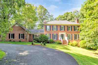 Albemarle County Single Family Home For Sale: 2300 Mill Ridge Rd