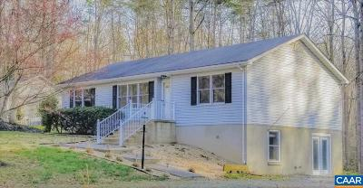 Louisa County Single Family Home For Sale: 185 Ash Rd