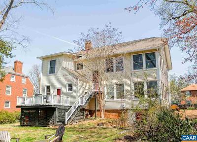 Charlottesville Single Family Home For Sale: 304 Montebello Cir