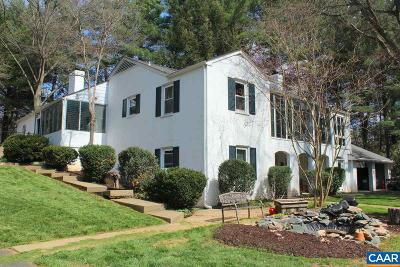 Charlottesville Single Family Home For Sale: 104 Buckingham Cir