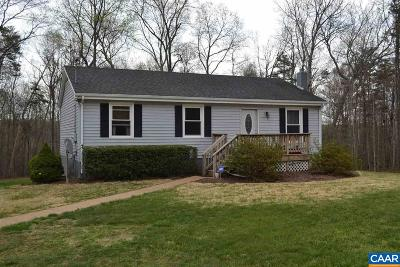 Fluvanna County Single Family Home For Sale: 16542 James Madison Hwy