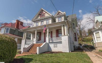 Staunton Single Family Home For Sale: 220 N Lewis St