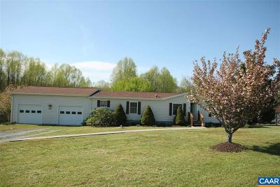 Buckingham County Single Family Home For Sale: 209 Social Hall Rd
