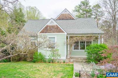 Charlottesville Single Family Home For Sale: 224 Monte Vista Ave