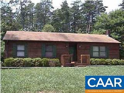 Fluvanna County Single Family Home For Sale: 2 Deer Path Rd