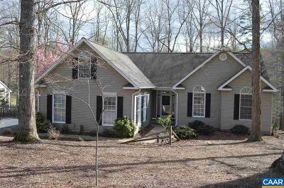 Fluvanna County Single Family Home For Sale: 257 Jefferson Dr