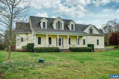 Louisa County Single Family Home For Sale: 2101 Diggstown Rd