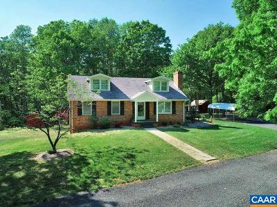 Single Family Home For Sale: 2129 Toms Rd