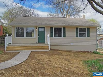 Staunton VA Single Family Home For Sale: $159,900