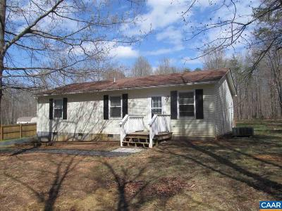 Buckingham County Single Family Home For Sale: 95 B-A-H Rd