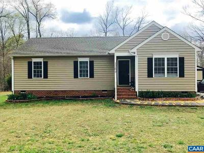 Louisa County Single Family Home For Sale: 1264 Jackson Rd