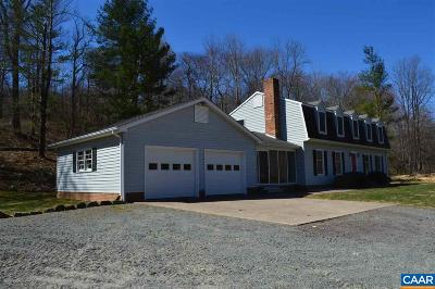 Madison County Single Family Home For Sale: 1951 Nethers Rd