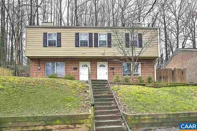 Charlottesville Multi Family Home For Sale: 403 Valley Road Ext #A & B