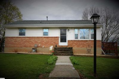 Staunton VA Single Family Home For Sale: $124,900