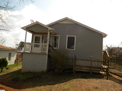 Staunton VA Single Family Home For Sale: $76,900