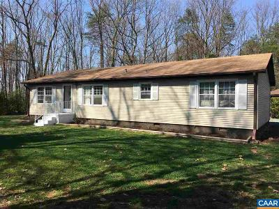 Fluvanna County Single Family Home For Sale: 431 Haden Martin Rd