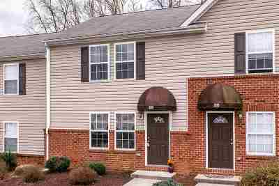 Harrisonburg Townhome For Sale: 337 Emerson Ln