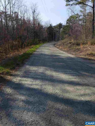 Albemarle County Lots & Land For Sale: 3175 Peavine Hollow Rd