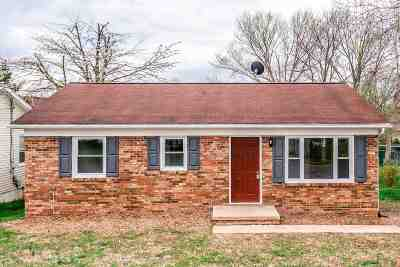 Harrisonburg Single Family Home For Sale: 161 Clinton St