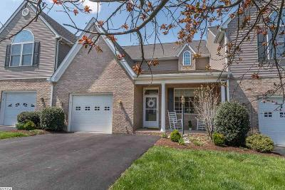 Staunton Townhome For Sale: 21 Villa View Dr