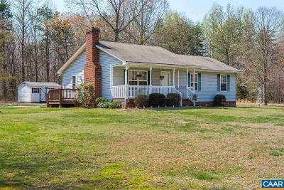 Orange County Single Family Home For Sale: 9010 Black Walnut Run Rd